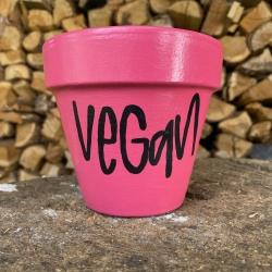 Maceta pequeña Vegan (rosa)