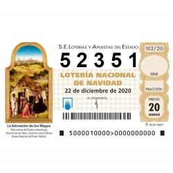 Participación Lotería Nadal...