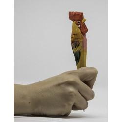 Bolígrafo madeira galo