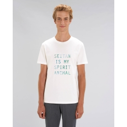 Camiseta recta Seitan is my...