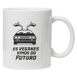 Taza Delorean