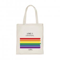 Bolsa tela Love is universal
