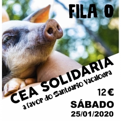 FILA 0 Cena solidaria...